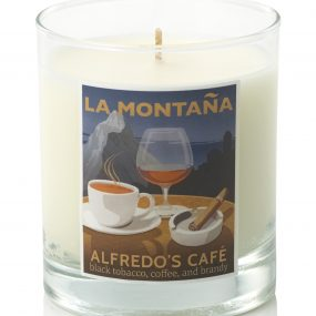 coffee scented candles