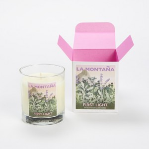 First Light Candle with box