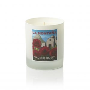 rose scented candles