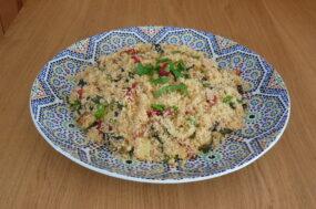 Cass's famous couscous
