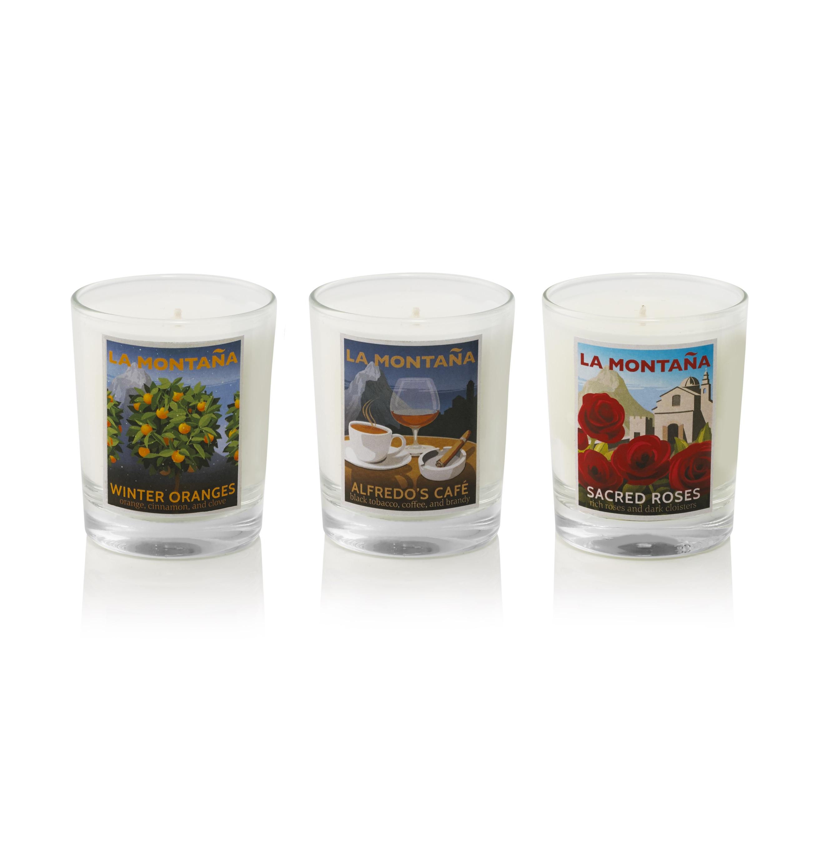 mini candle set