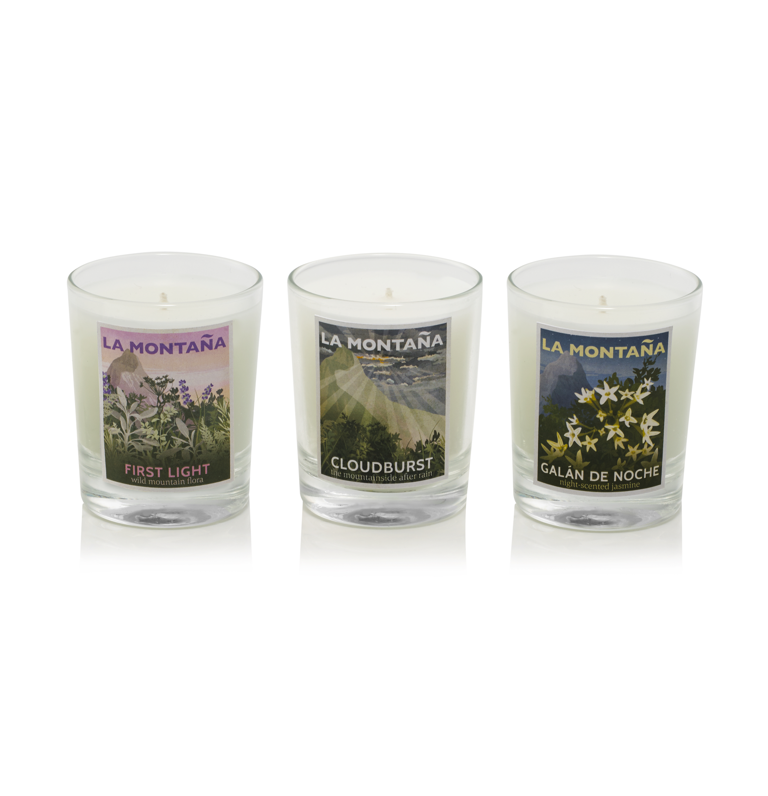 mini candle set